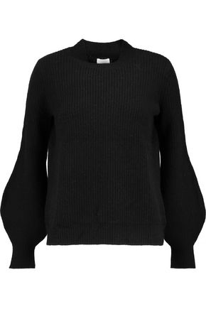 MADELEINE THOMPSON Nimos ribbed wool and cashmere-blend sweater