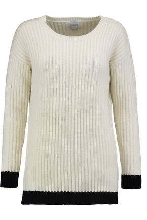 MADELEINE THOMPSON Asia ribbed wool and cashmere-blend sweater