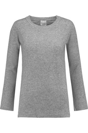 MADELEINE THOMPSON Thassos ribbed wool and cashmere-blend sweater