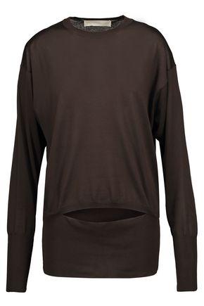 STELLA McCARTNEY Cutout silk sweater