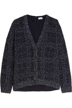 BRUNELLO CUCINELLI Sequined cashmere-blend cardigan