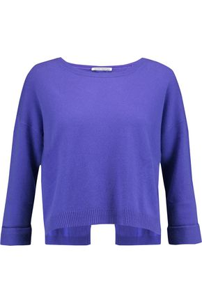 AUTUMN CASHMERE Split-back cashmere sweater