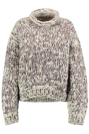 IRO Cable-knit wool turtleneck sweater