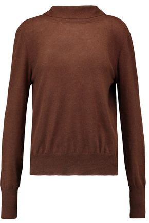 MARNI Draped cashmere sweater