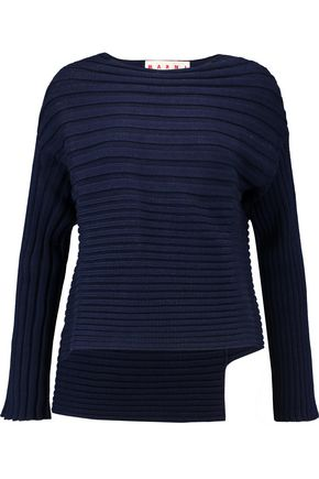 MARNI Ribbed cotton sweater