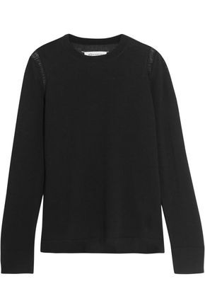 MAISON MARGIELA Distressed wool sweater