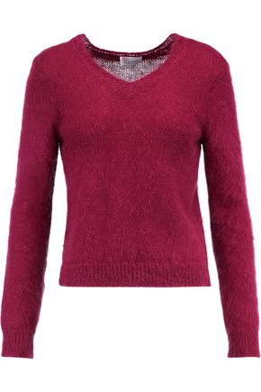 REDValentino Mohair-blend sweater
