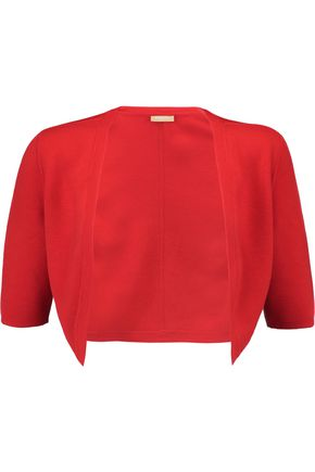 MICHAEL KORS COLLECTION Merino wool-knit shrug