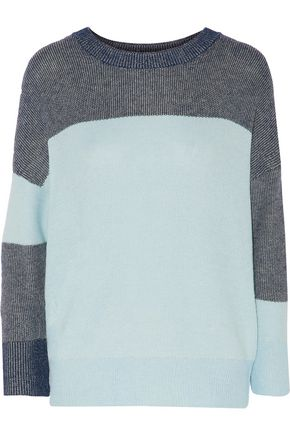 EQUIPMENT Melanie color-block knitted sweater