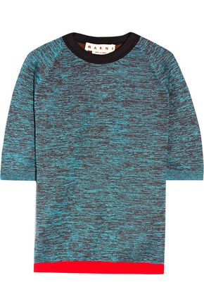 MARNI Wool-blend top