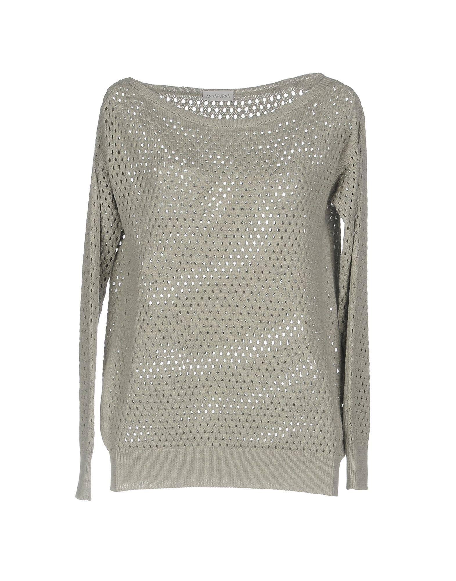 ANNAPURNA Sweater in Light Grey