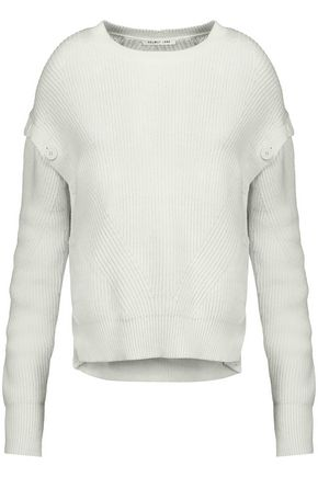 HELMUT LANG Ribbed-knit cotton sweater