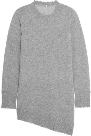 R13 Asymmetric cashmere sweater