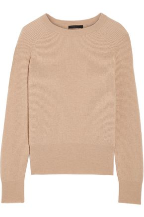 THE ROW Lenni ribbed camel hair sweater