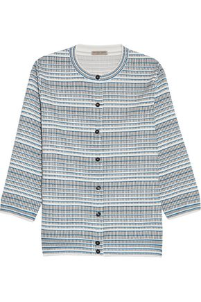 BOTTEGA VENETA Jacquard-knit cardigan