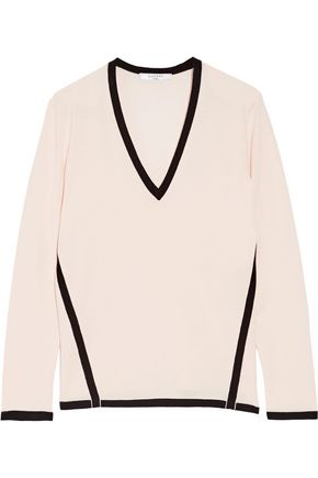 LANVIN Two-tone wool sweater