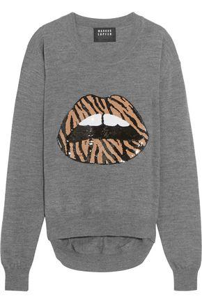 MARKUS LUPFER Lara sequin-embellished wool sweater