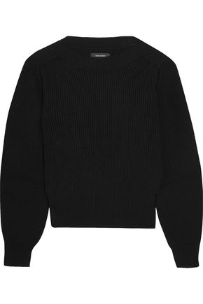 ISABEL MARANT Fidji ribbed cotton-blend sweater