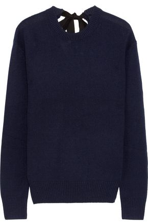 JOSEPH Tie-back cashmere sweater
