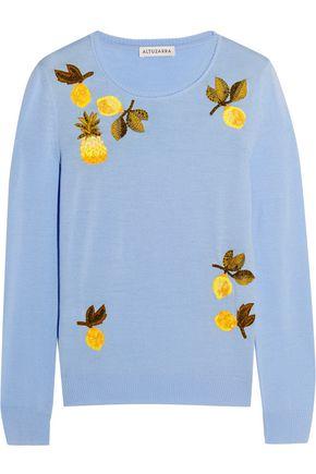 ALTUZARRA Harding embellished merino wool sweater