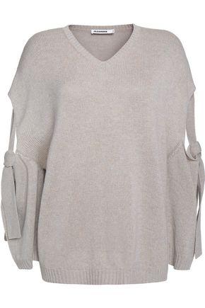 JIL SANDER Cutout cashmere sweater