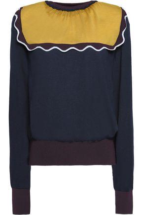ROKSANDA Ruffle-trimmed wool sweater