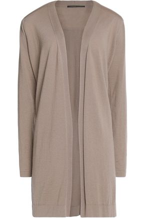 AGNONA Pleated cashmere cardigan