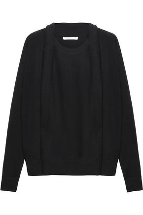 DUFFY Draped cashmere sweater
