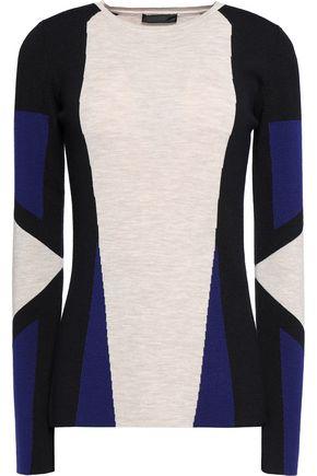 BELSTAFF Whitemore color-block wool sweater