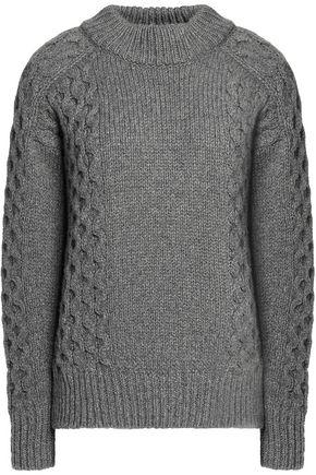 BELSTAFF Milton cable knit-paneled cashmere sweater