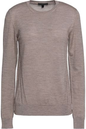 BELSTAFF Somerby paneled wool sweater