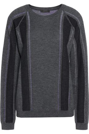 BELSTAFF Paneled wool sweater