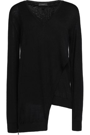 BELSTAFF Lennox layered wool sweater