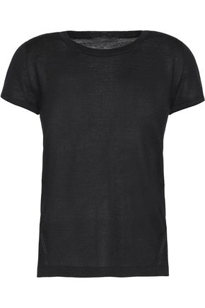 BELSTAFF Tangley cashmere and silk-blend T-shirt