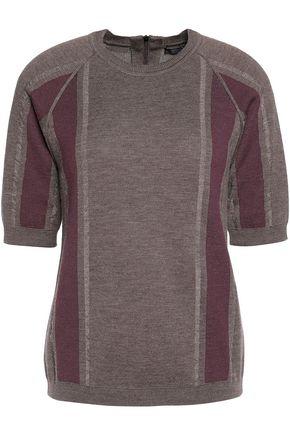 BELSTAFF Blythe paneled wool top