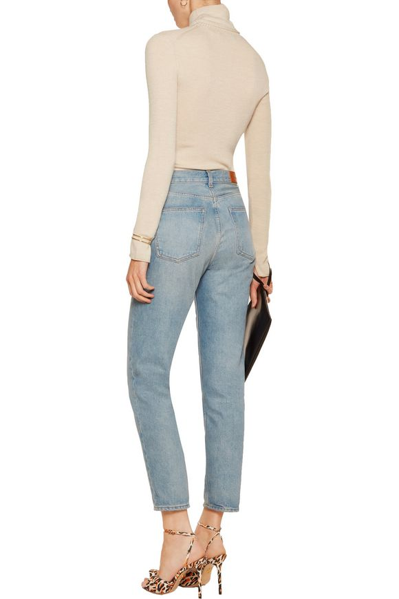 Roberta ribbed wool turtleneck sweater   ALICE+OLIVIA   Sale up to 70% off    THE OUTNET