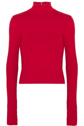 ALICE + OLIVIA Garrison knitted turtleneck top