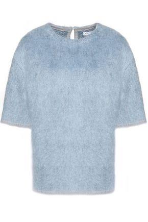 VIONNET Mohair-blend felt sweater