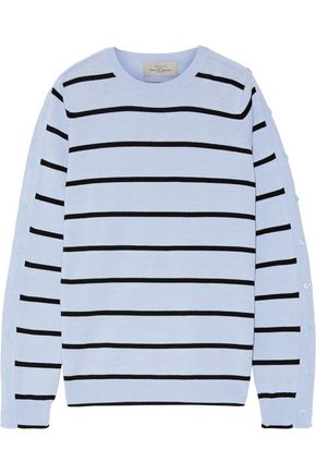 PREEN by THORNTON BREGAZZI Ada striped wool-blend sweater