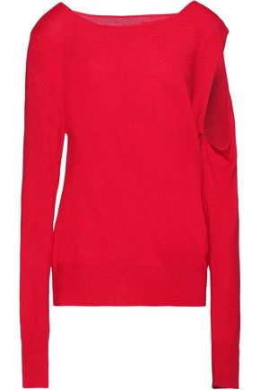 MM6 MAISON MARGIELA Cutout knitted sweater