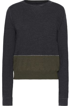 MM6 MAISON MARGIELA Two-tone wool sweater