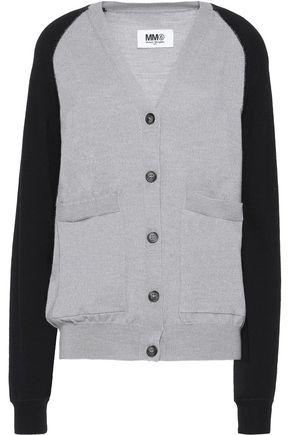 MM6 MAISON MARGIELA Two-tone wool cardigan