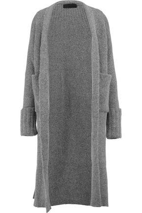 HAIDER ACKERMANN Ribbed chunky-knit maxi cardigan