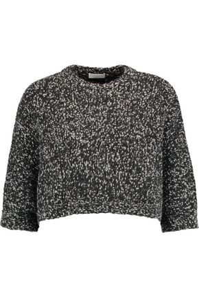 BRUNELLO CUCINELLI Sequined cashmere and wool-blend sweater