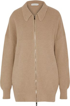 STELLA McCARTNEY Ribbed wool jacket