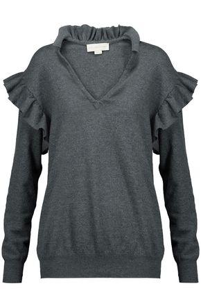 STELLA McCARTNEY Ruffled wool sweater