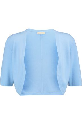 MICHAEL KORS COLLECTION Merino wool-knit shrug