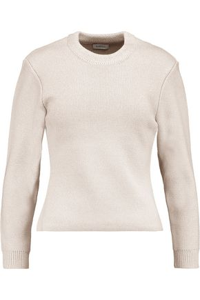 TOTÊME Merino wool and cotton-blend sweater