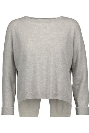 AUTUMN CASHMERE Open-back cashmere sweater