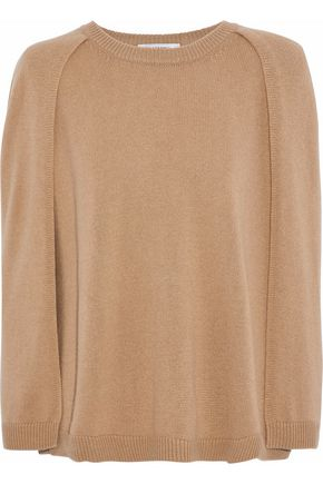 VALENTINO Cape-effect cashmere sweater